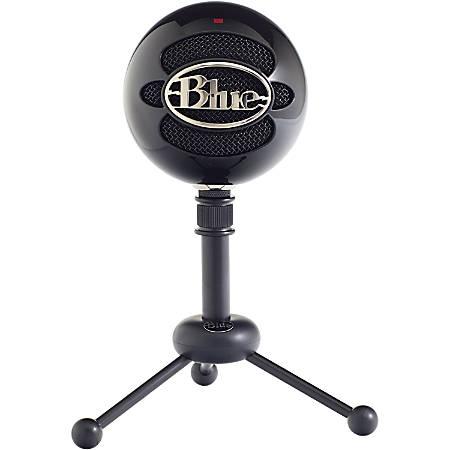 Blue Snowball USB Microphone - Gloss Black