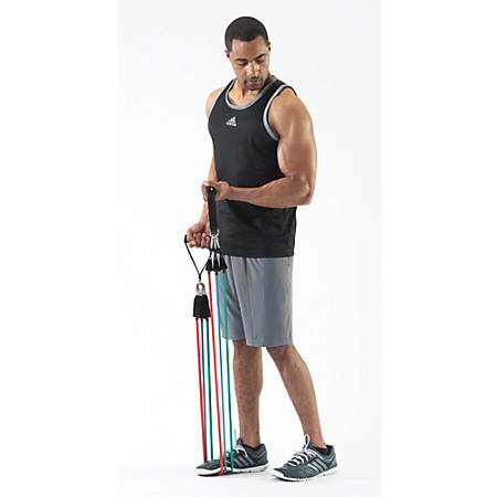 Black Mountain Products® Ultimate Stackable Resistance Band Set, Assorted, 1 Set
