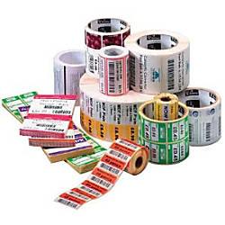Zebra Label Paper F65855 4 x