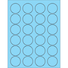 Office Depot Brand Labels LL193BE Circle