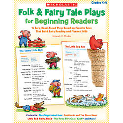Scholastic Folk Fairy Tale Plays For