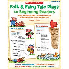 Scholastic Folk Fairy Tale Plays For
