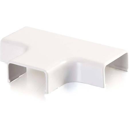 C2G Wiremold Uniduct 2700 Tee - White - White - Polyvinyl Chloride (PVC)
