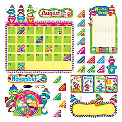 TREND Sock Monkeys Calendar Set 17