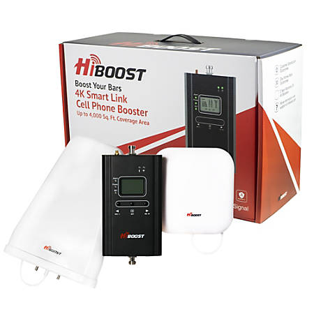 HiBoost 4K Smart Link Cell Phone Signal Booster