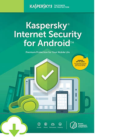 Kaspersky Internet Security for Android 1 user 1 year