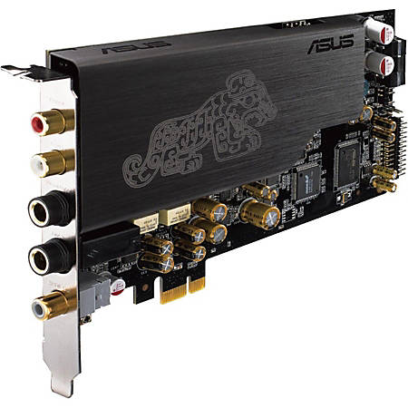 Asus ESSENCE STX II Sound Board - 5.1 Sound Channels - Internal - ASUS AV100 - PCI Express - 124 dB, 120 dB, 118 dB - 1 x Number of Headphone Ports - S/PDIF Out