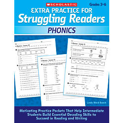 Scholastic Extra Practice For Struggling Readers