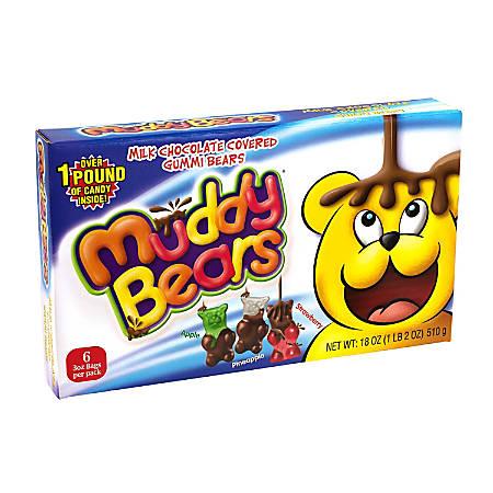 Taste of Nature Ginormous Muddy Bears Box, 1.2 Lb