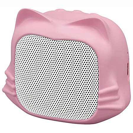 iLive Animal Cat Bluetooth® Speaker, Pink