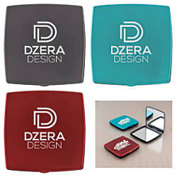Square Pocket Compact Mirrors