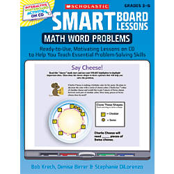 Scholastic SMART Board Lessons Math Word