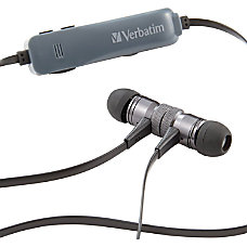 Verbatim Bluetooth Stereo Earphones with Microphone