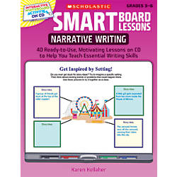 Scholastic SMART Board Lessons Narrative Writing