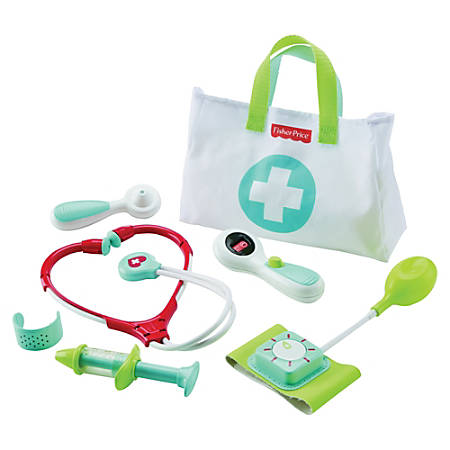 Fisher-Price - Plastic Play Medical Kit - Plastic