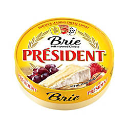 President Soft Ripened Brie Cheese 196