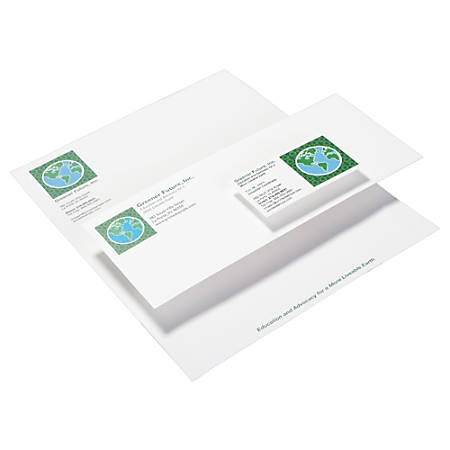 "Custom Full-Color Letterhead, 8 1/2"" x 11"", Pack Of 50"