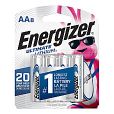 Energizer Photo Ultimate Lithium AA Batteries