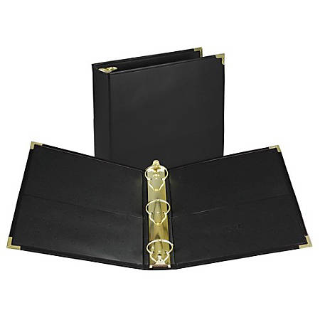 Samsill Leather-like Classic Collectn Ring Binder