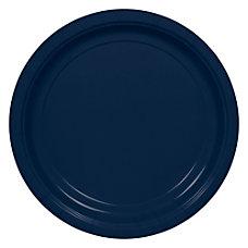 Amscan Round Paper Plates 9 True