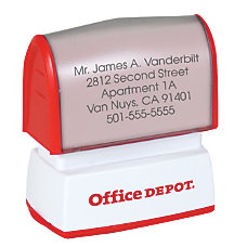 Custom Office Depot Brand Small Pre