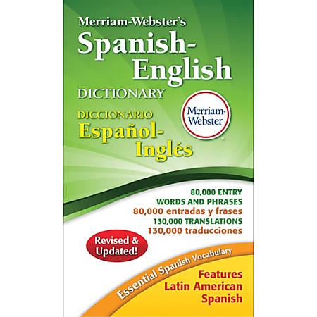 Merriam-Webster Spanish-English Dictionary