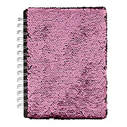 Office Depot Brand Reversible Sequins Notebook