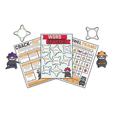 Carson-Dellosa Word Attack Bulletin Board Set, Multicolor, Grades 1-5