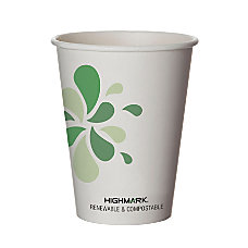Highmark Compostable Hot Drink Cups 12