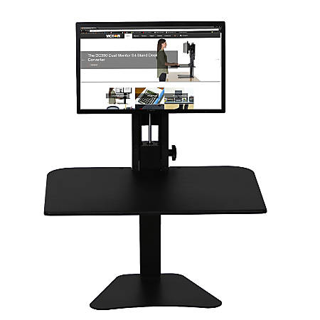 Victor® High Rise™ DC300 Standing Desk Riser, Black