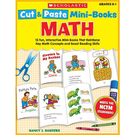 Scholastic Cut & Paste Mini-Books: Math