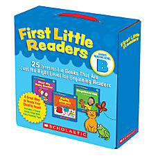 Scholastic First Little Readers Parent Pack