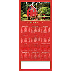 Personalized Calendar Card With Envelope Sample
