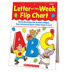 Scholastic Letter Of The Week Flip