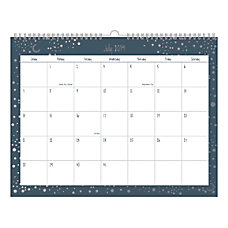 Office Depot Brand Monthly Academic Wall