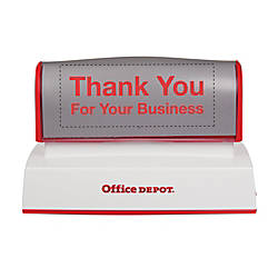Office Depot Brand Pre Inked Stamp
