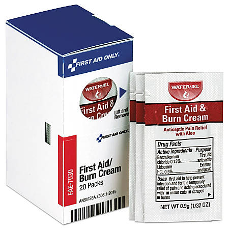 Convenient refills contain individual items for restocking first aid kits. For general use around office or home.