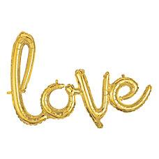 Amscan Love Cursive Balloon Banner 27