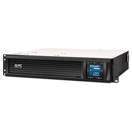 APC® Smart-UPS C 6-Outlet Rackmount With SmartConnect, 1,500VA/900 Watts, SMC1500-2UC
