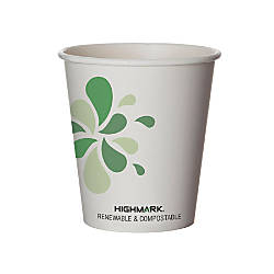 Highmark Renewable Hot Drink Cups 10