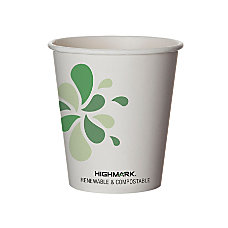 Highmark Compostable Hot Drink Cups 10