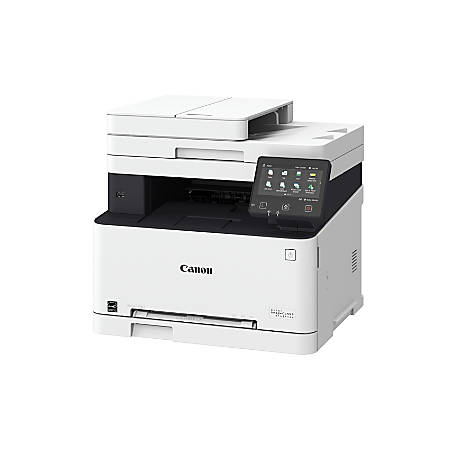 Canon imageCLASS® MF634Cdw Wireless Color Laser All-In-One Printer, Scanner, Copier, Fax, 1475C005
