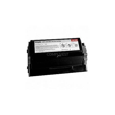 Lexmark™ 12A2360 Remanufactured Black Toner Cartridge