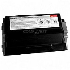 Lexmark 12A2360 Remanufactured Black Toner Cartridge