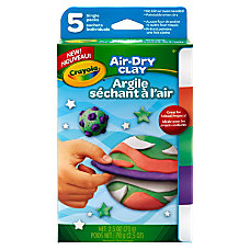Crayola Air Dry Clay Bright Colors