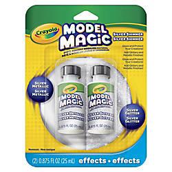 Model Magic Glossy Silver Metallic Glaze
