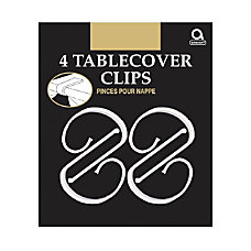 Amscan Plastic Table Cover Clips 2