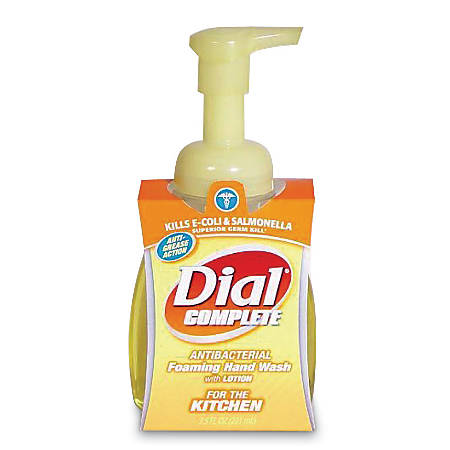 Dial Complete® Foaming Antibacterial Hand Wash, Original Scent, 7.5 Oz. Pump