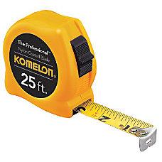 1 X25 YELLOW CASE STEELPOWER TAPE