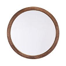Zuo Modern Zero Round Mirror Medium